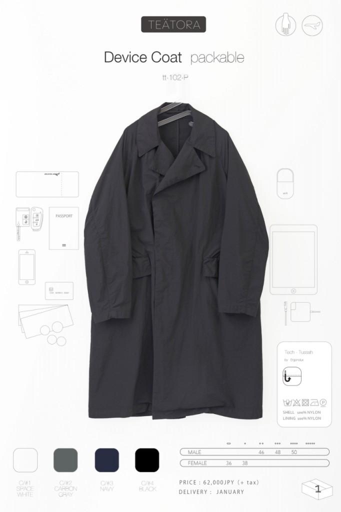 4device coat P のコピー