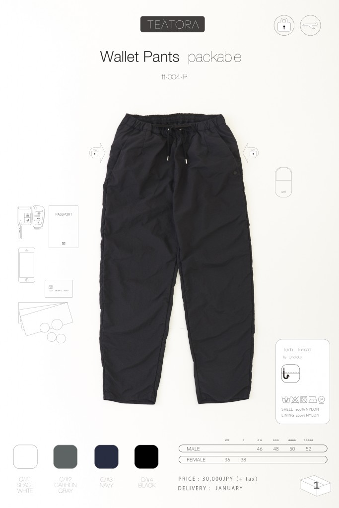 7wallet pants P のコピー