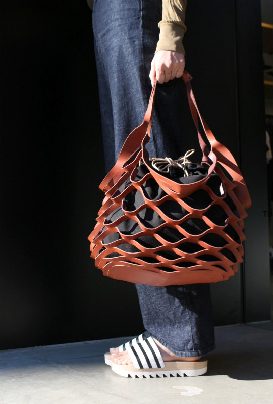 Muller Leather Net Bag Maw Sapporo