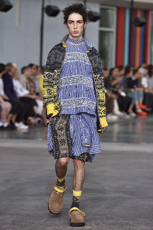 Sacai Paris Menswear Spring Summer 2018 Paris June 2017